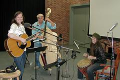 Julia Joseph and her band